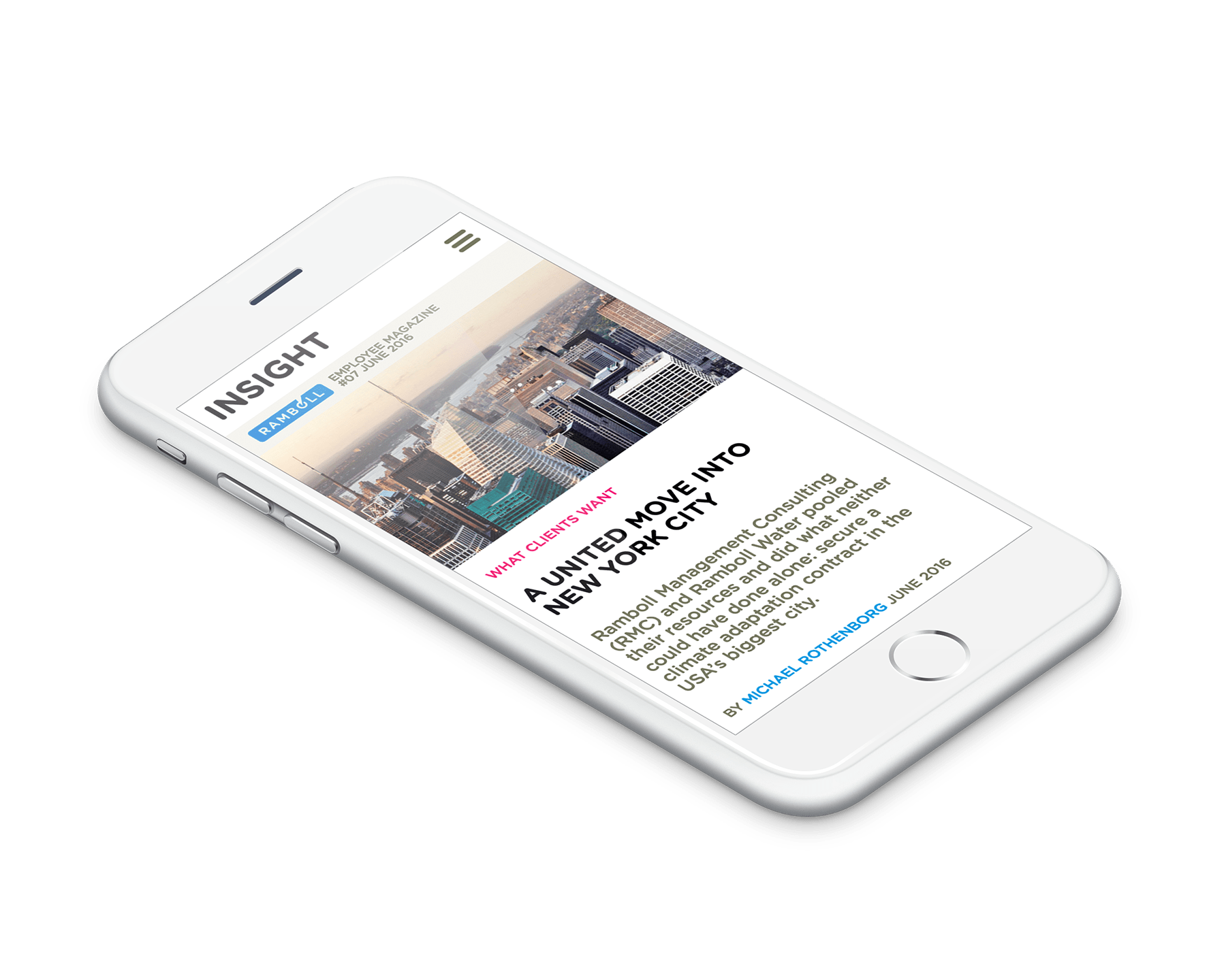 Insight - Ramboll employee magazine