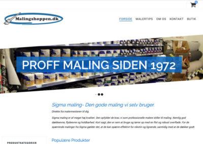 malingshoppen.dk