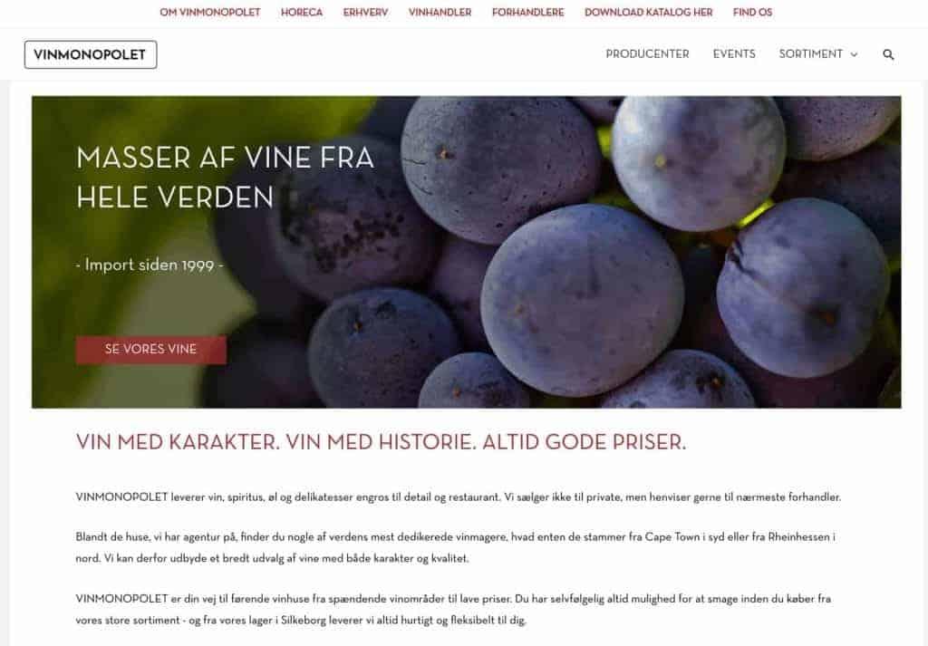 Vinmonopolet.dk
