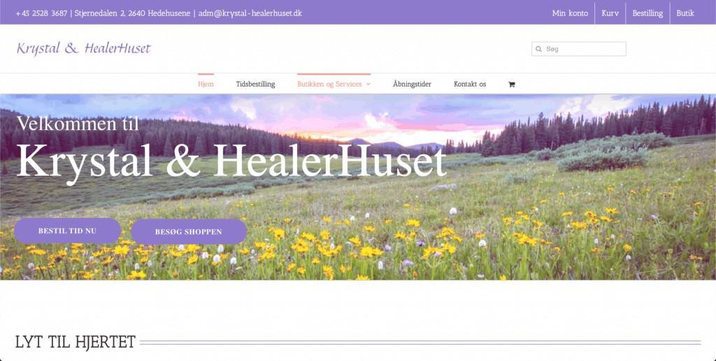 Krystal & Healerhuset - Hjælp til teknikken