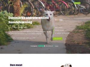 Onlinehund.dk - opsætning, design og optimering